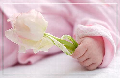 Прикольные с рождением дочки поздравления маме и папе